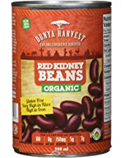 Dunya Harvest Red Kidney Beans Organic, 0.398 L