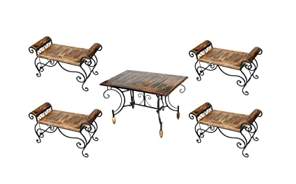 Kraftee Miniature Living Room Furniture Wooden Table With
