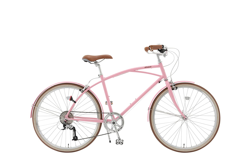 alohaloco(アロハロコ) オリジナル自転車(26インチ) KAILUA(カイルア) シマノ製8段変速ギヤ KAILUA B01M2ZBITV Small ピンク ピンク Small