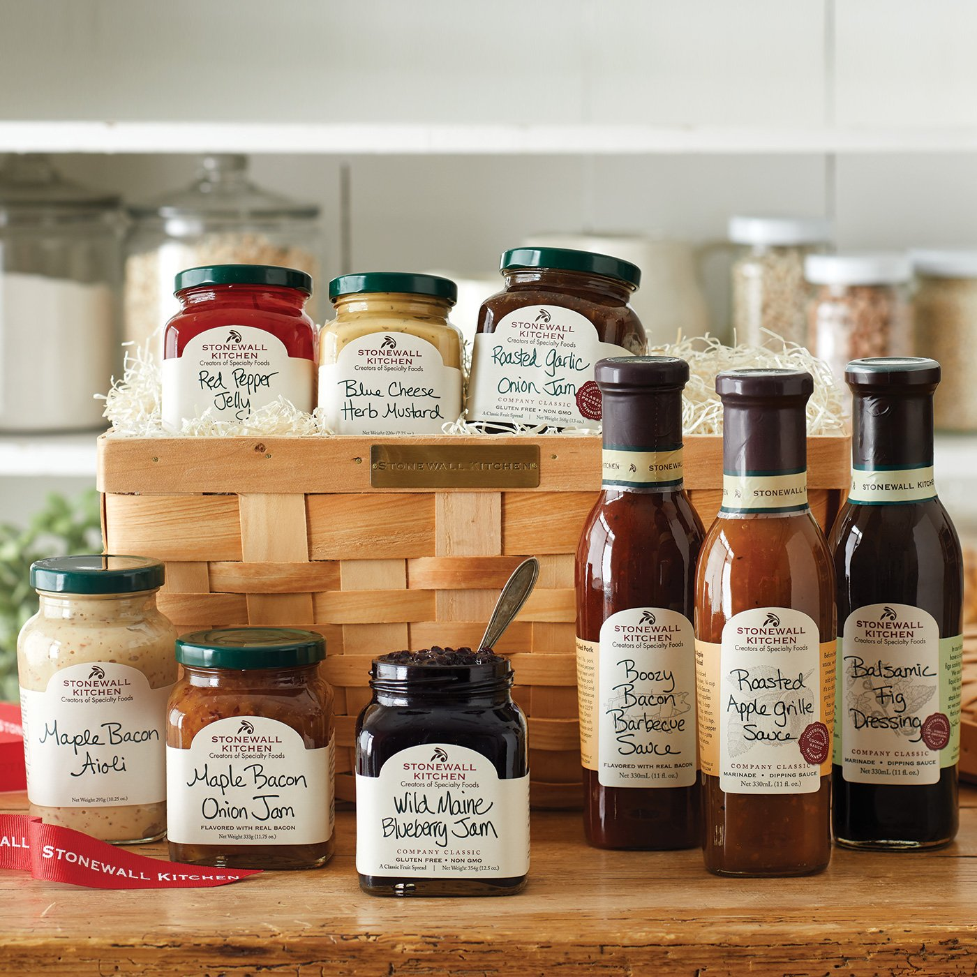 Kitchen Gift Baskets: Amazon.com : Stonewall Kitchen Grille Sauce Collection (4