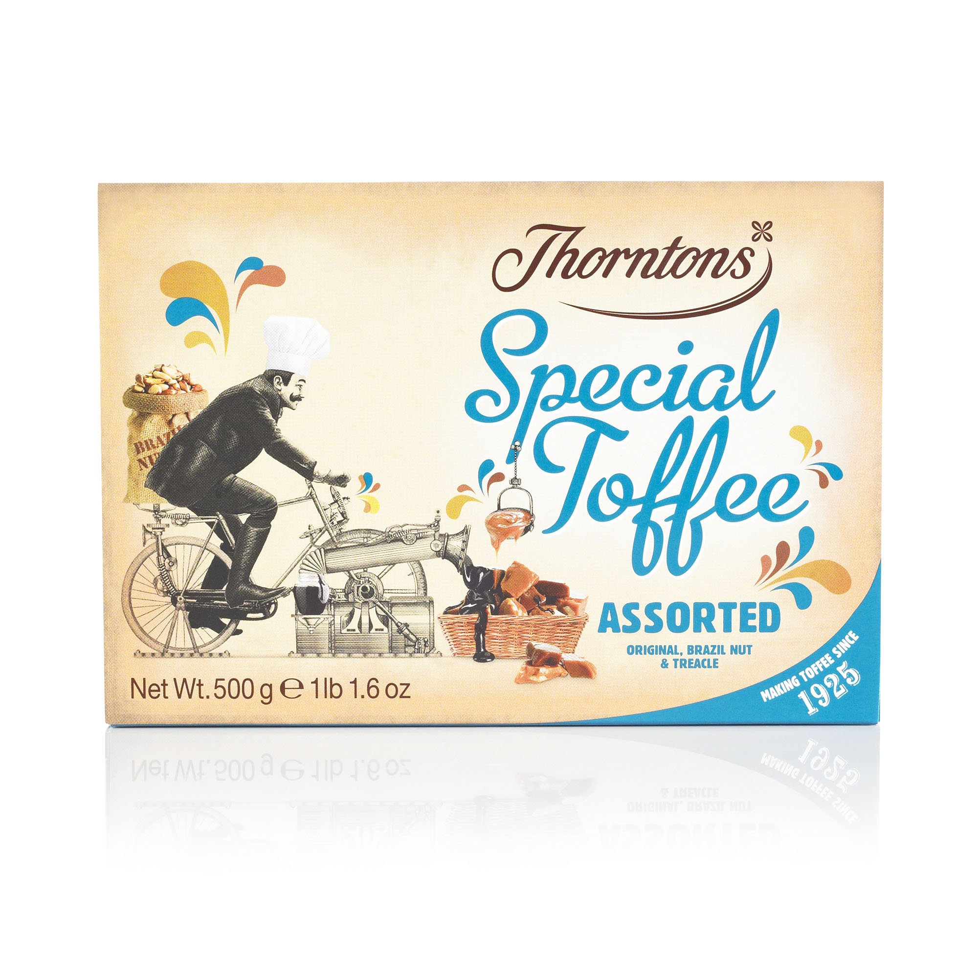 Thorntons Assorted Toffee Box 500g