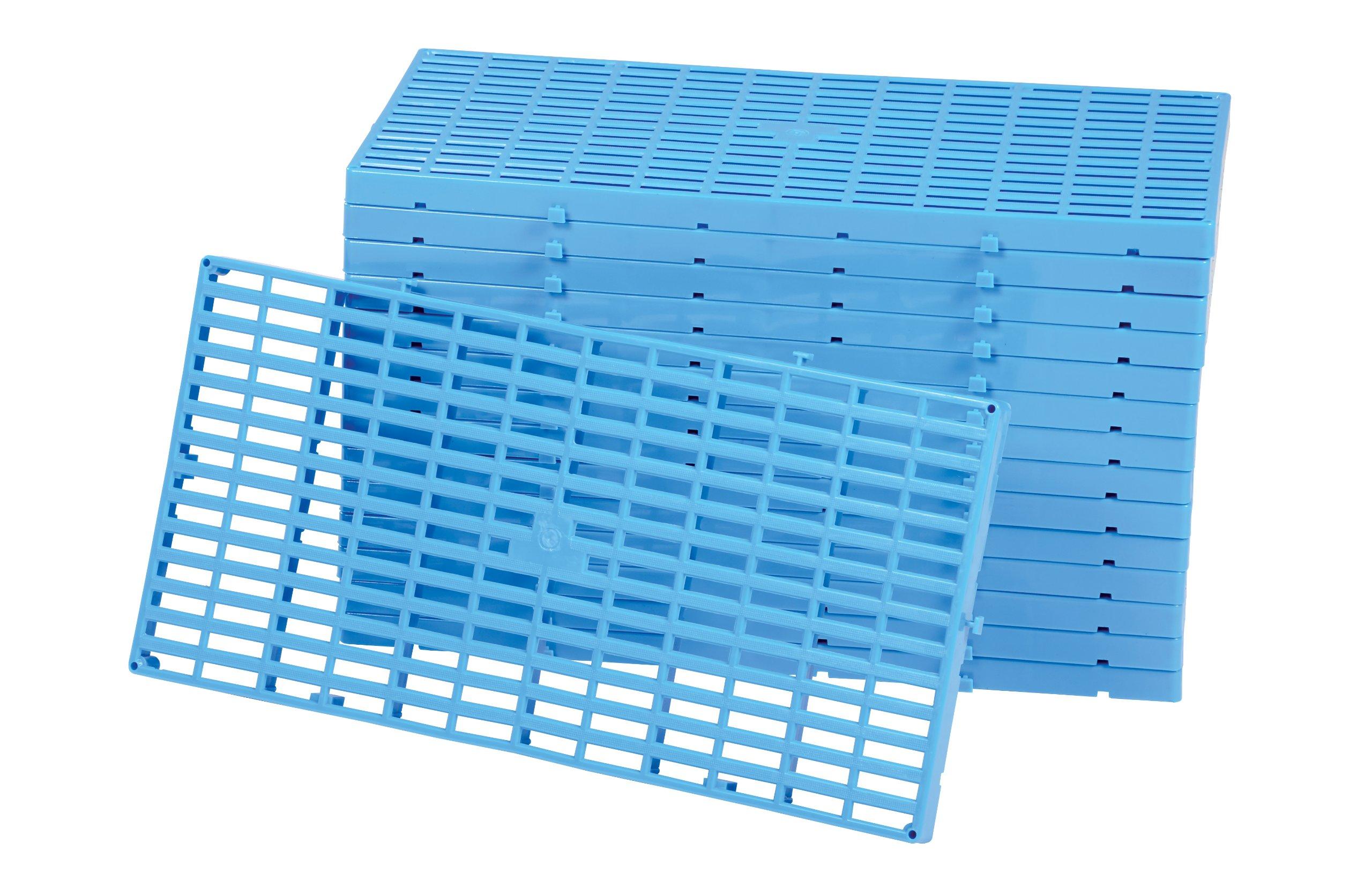 Vestil F-GRID Plastic Floor Grid, 1100 lbs Capacity, 23.5'' Length, 11.75'' Width, 1'' Height, Box of 15 by Vestil