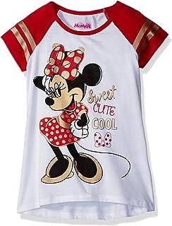 Amazon.com  Disney Girls  Minnie Mouse T-Shirt  Clothing 29e2a147ad40f