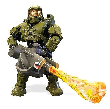 Amazon.com: Figura de Master Chief de Mega construx Halo ...