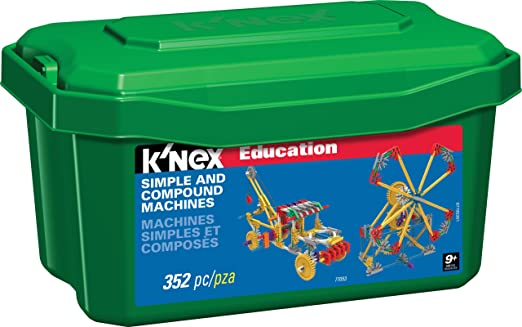 Amazon.com: K'NEX Education – Simple and Compound Machines Set ...