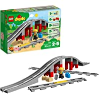 Deals on LEGO DUPLO Train Bridge and Tracks 10872 Blocks 26 Pieces
