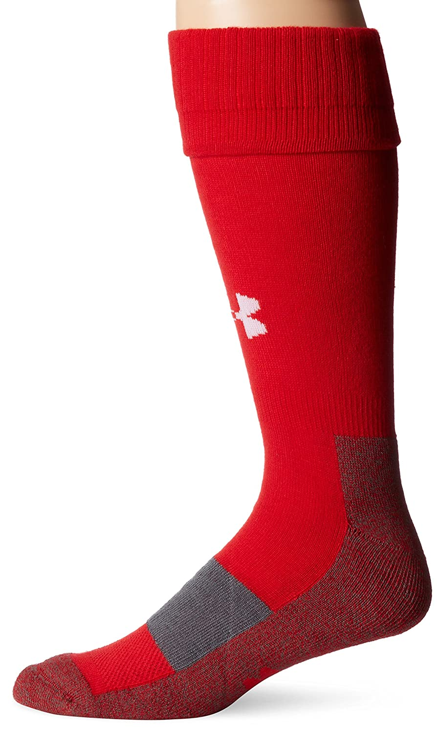 Under Armour Men's Baseball Over-the-Calf Socks (1 Pair), Red, X-Large Under Armour Socks U401