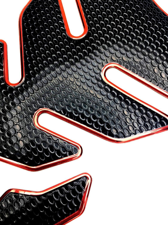 650cc C07# ZZR600 ZX9R Niree Motorcycle Tank Gas Metallic Luster Protector Pad Sticker Decal for Kawasaki NINJA 650R//ER-6F//ER-6N ZX-6 W800//SE VERSYS