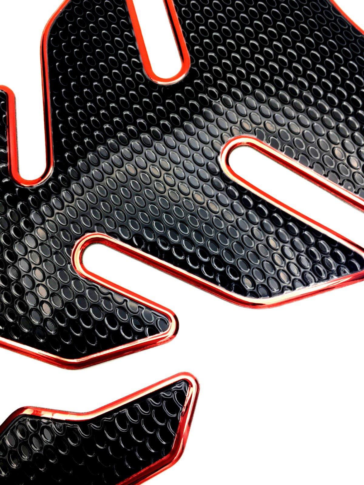 A01# Niree Motorcycle Tank Gas Protector Pad Sticker Decal for Kawasaki ZX6R//636 2007-2016 ZX10R 2006-2015 Z1000SX//NINJA 1000//Tourer 2011-2016 Z1000 2007-2016 Z750R 2011-2012