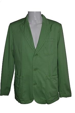 Celio - Chaqueta para hombre - 100% algodón - verde claro o naranja claro Talla S/M/L - Neuf verde S: Amazon.es: Ropa y accesorios