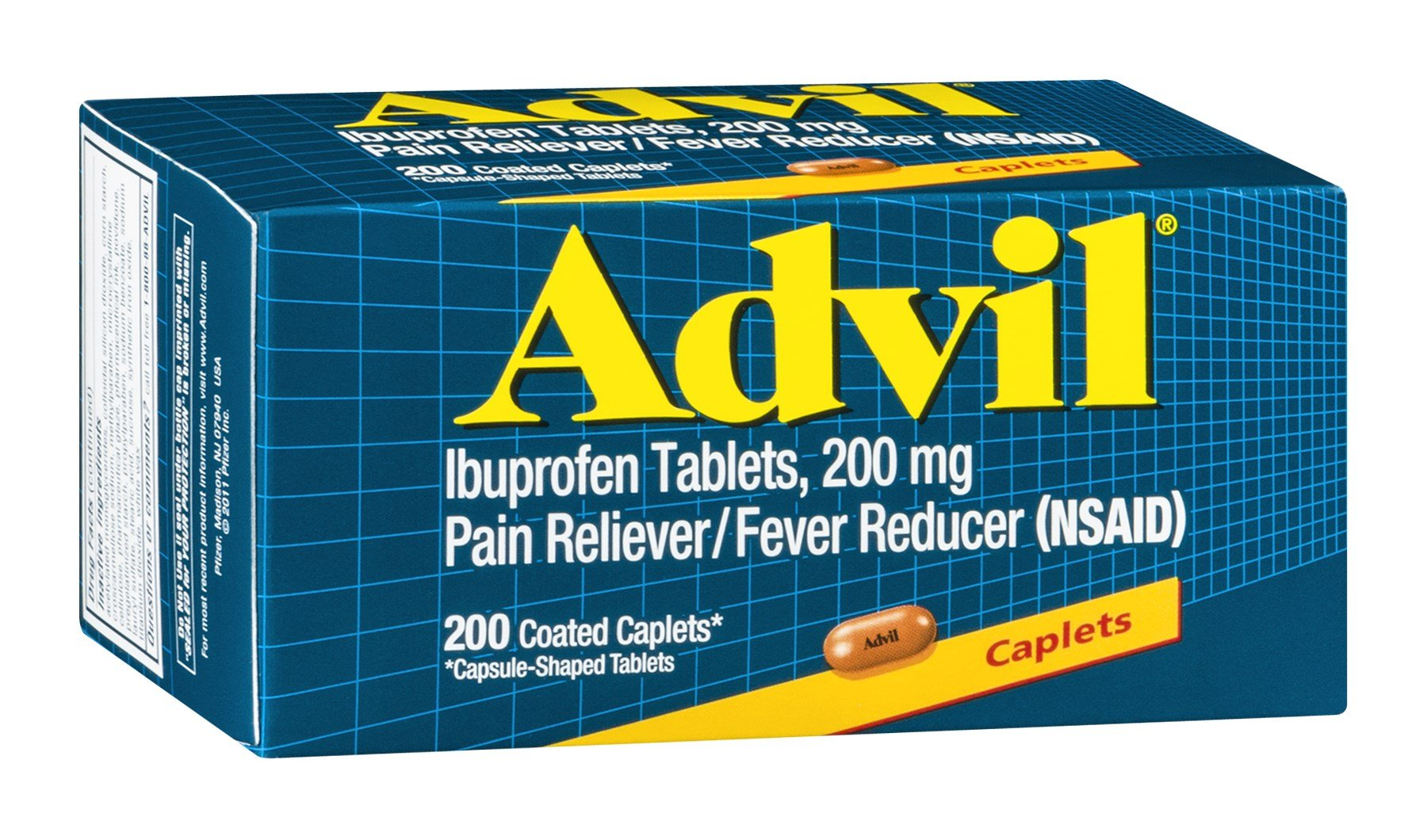 Advil Ibuprofen Caplets by Advil