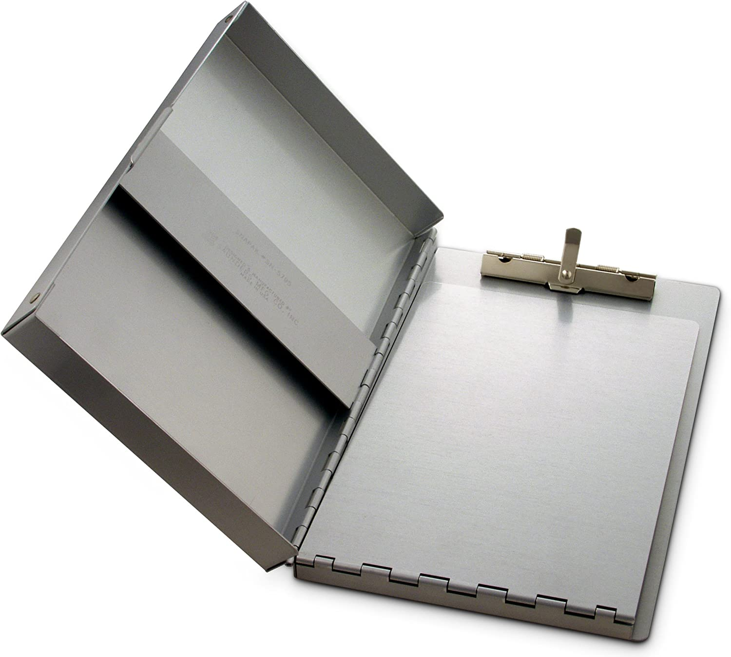 Saunders Recycled Aluminum Snapak Form Holder, Memo Size, Fits Paper Size up to 6 x 10 inches (10507) : Clipboards : Office Products