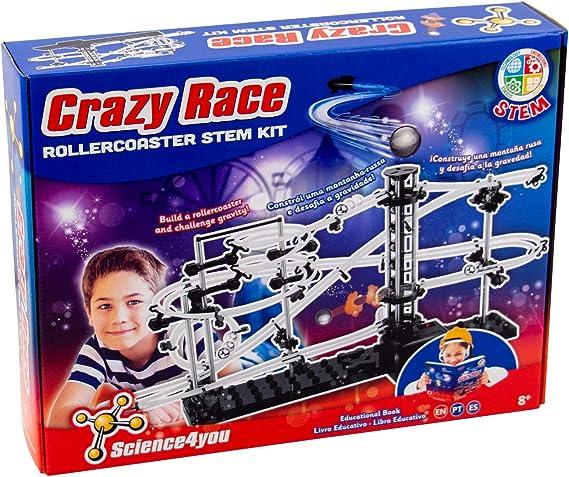 Science4you Crazy Race Juguete Educativo y cient/ífico 481791