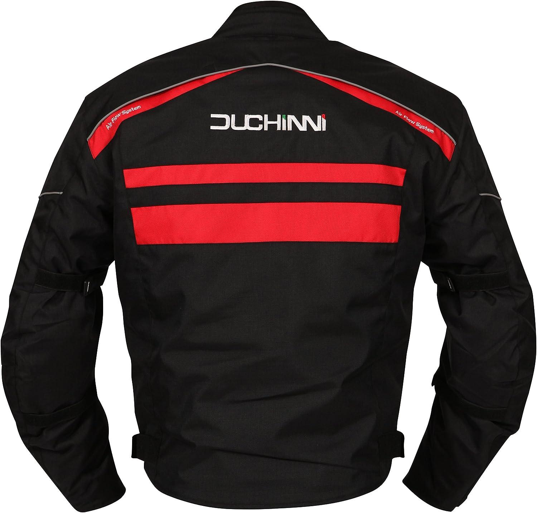 White, XX-Large DUCHINNI Modena Motorcycle Jacket