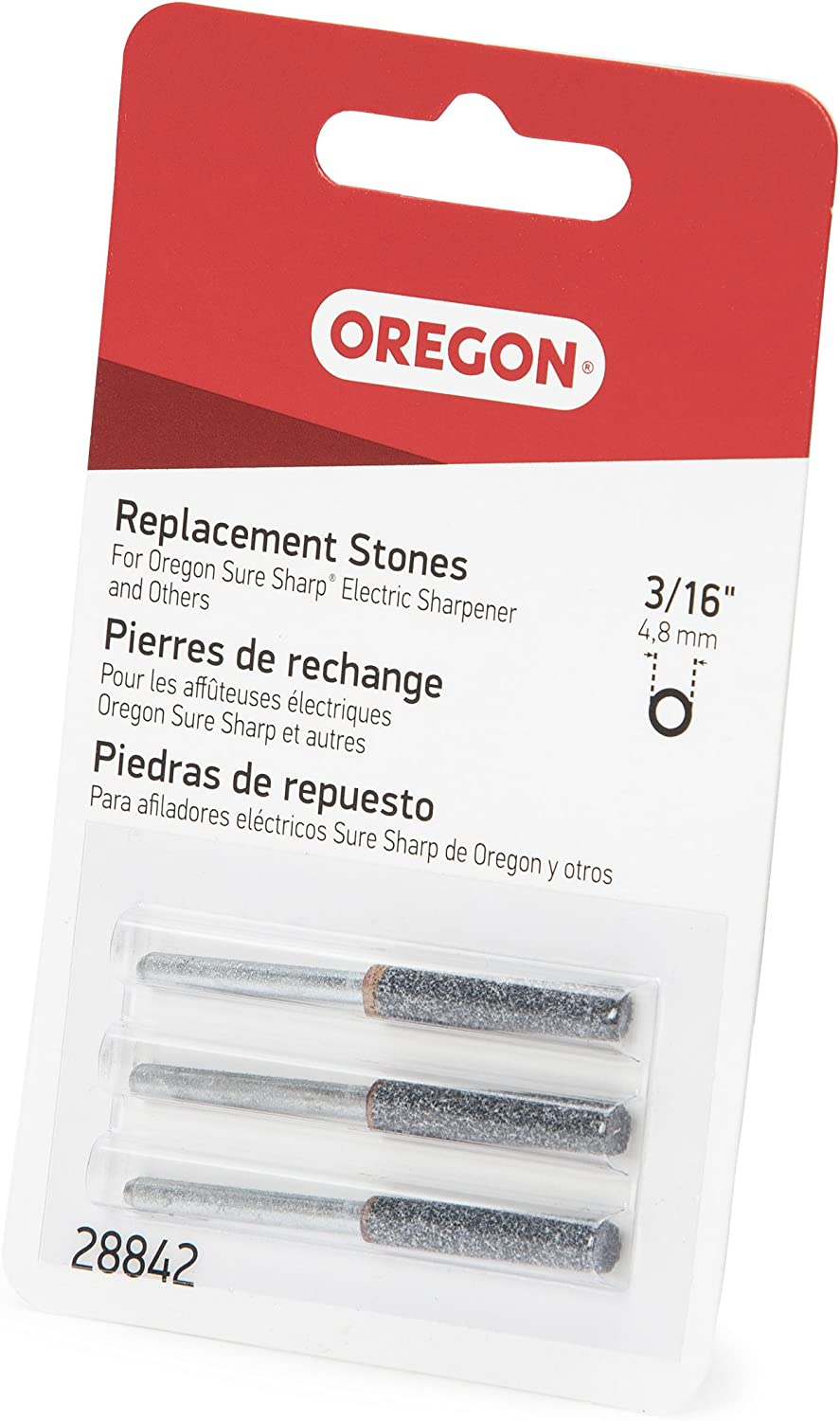 Oregon 28840 5//32-Inch Chainsaw Replacement Sharpening Stone