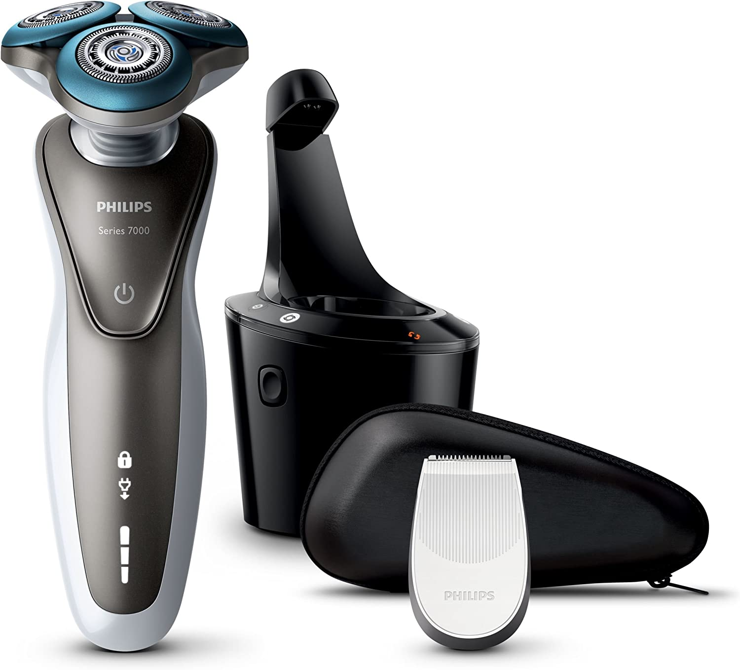 Philips SHAVER SERIES 7000 S772026 Rotation Gehweg Bronze