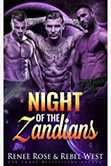 Night of the Zandians: A Reverse Harem Alien Warrior Romance (Zandian Brides Book 1) Kindle Edition