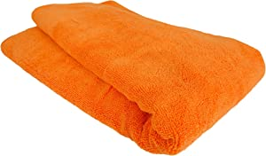 Chemical Guys MIC_881 Fatty Super Dryer Microfiber Towel for Auto, Home, Kids, Pets & More, Orange (25 in. x 34 in.)
