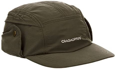 d8d40072406 Buy CRAGHOPPERS Nosilife Desert Hat - Color Khaki - Size S   M Online at  Low Prices in India - Amazon.in