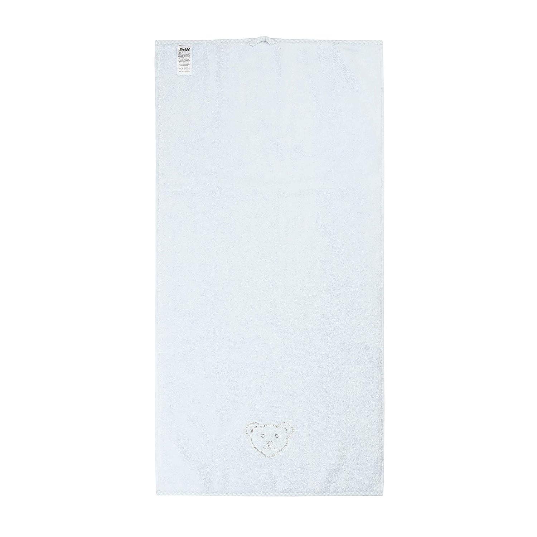Frottee Kinderhandtuch personalisiert 30x50 cm Handtuch LALALO Steiff Kinder /& Baby Handtuch Bestickt mit Namen Junge Hellblau Winter Sky Zierkante
