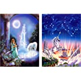 Little Mermaid 10x14 3D Lenticular Poster Print ready to Frame or Hang
