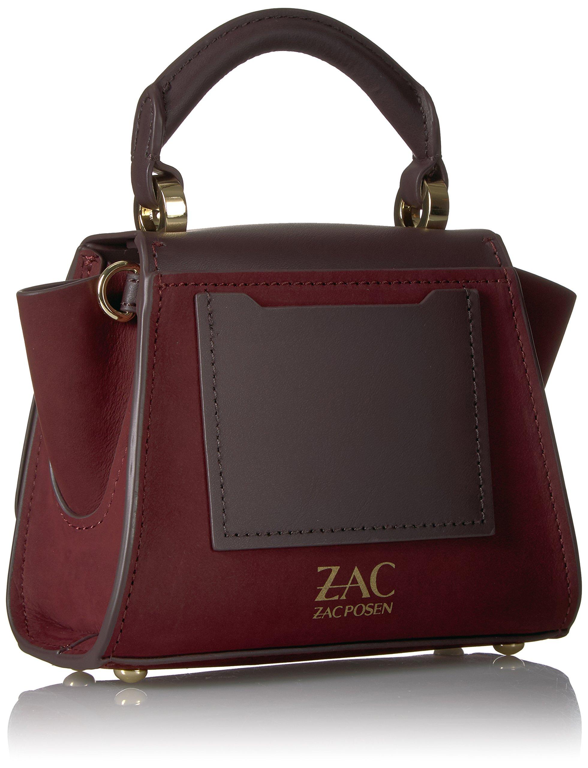 ZAC Zac Posen Eartha Iconic Soft Top Handle Mini-Suede by ZAC Zac Posen (Image #2)