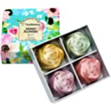 Touch Nature 4 Mini Rose Set Mixed Flowers Handmade Natural Soaps