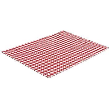Filu Tischset 4 Stuck Rot Weiss Kariert Farbe Und Design Wahlbar