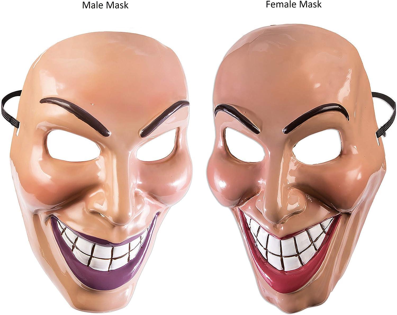 Forum Novelties X79189 Evil Grin Mask Male Mens One Size Multi-Colour