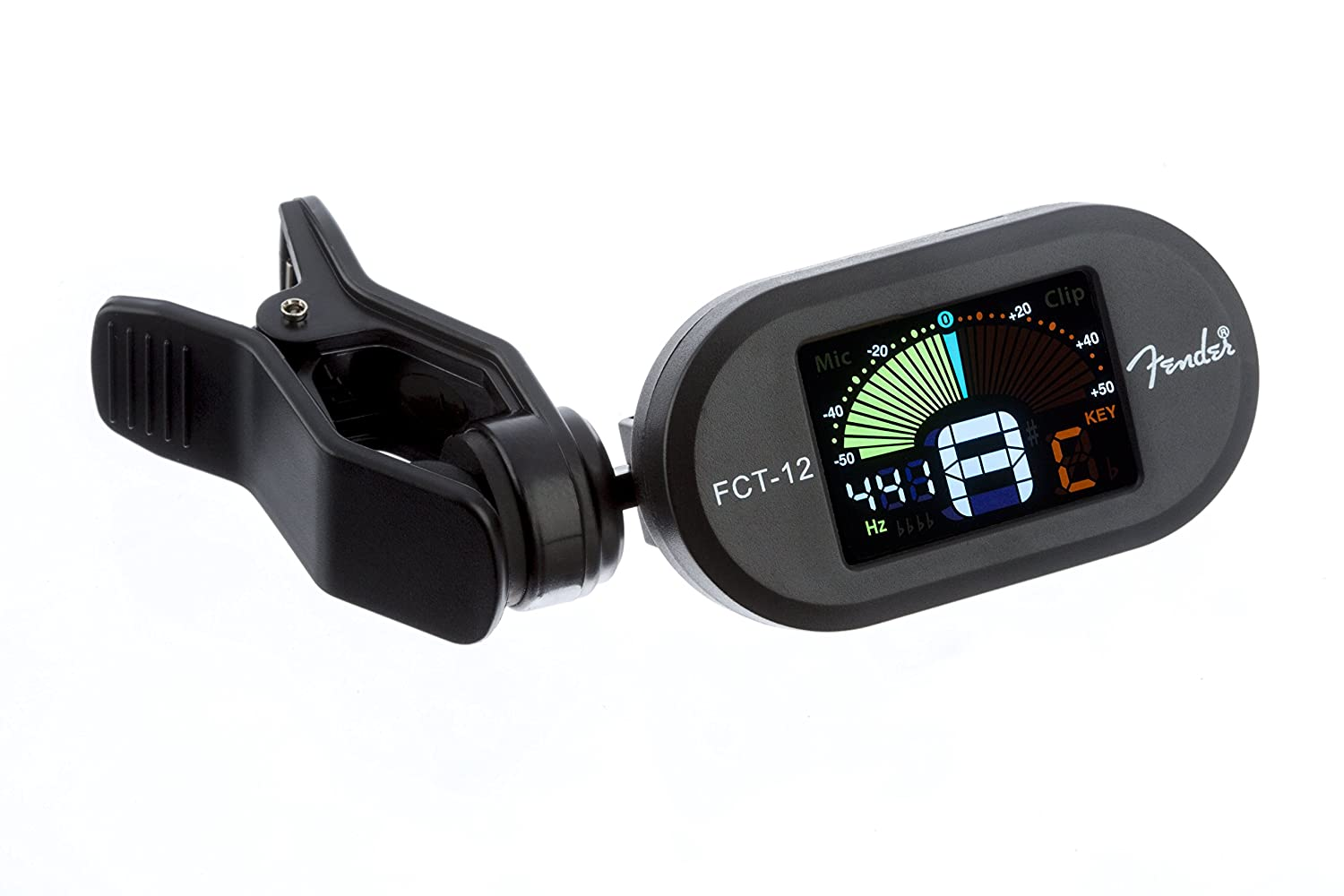 Fender FCT-12 Color Clip-On Chromatic Tuner 0239978100