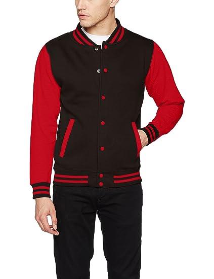 AWDis Varsity Jacket, Chaqueta Bomber Para Hombre: Amazon.es: Ropa y accesorios