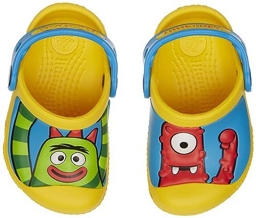 647fa88054 crocs 14293 Yo Gabba Gabba Clog (Toddler Little Kid Big Kid)