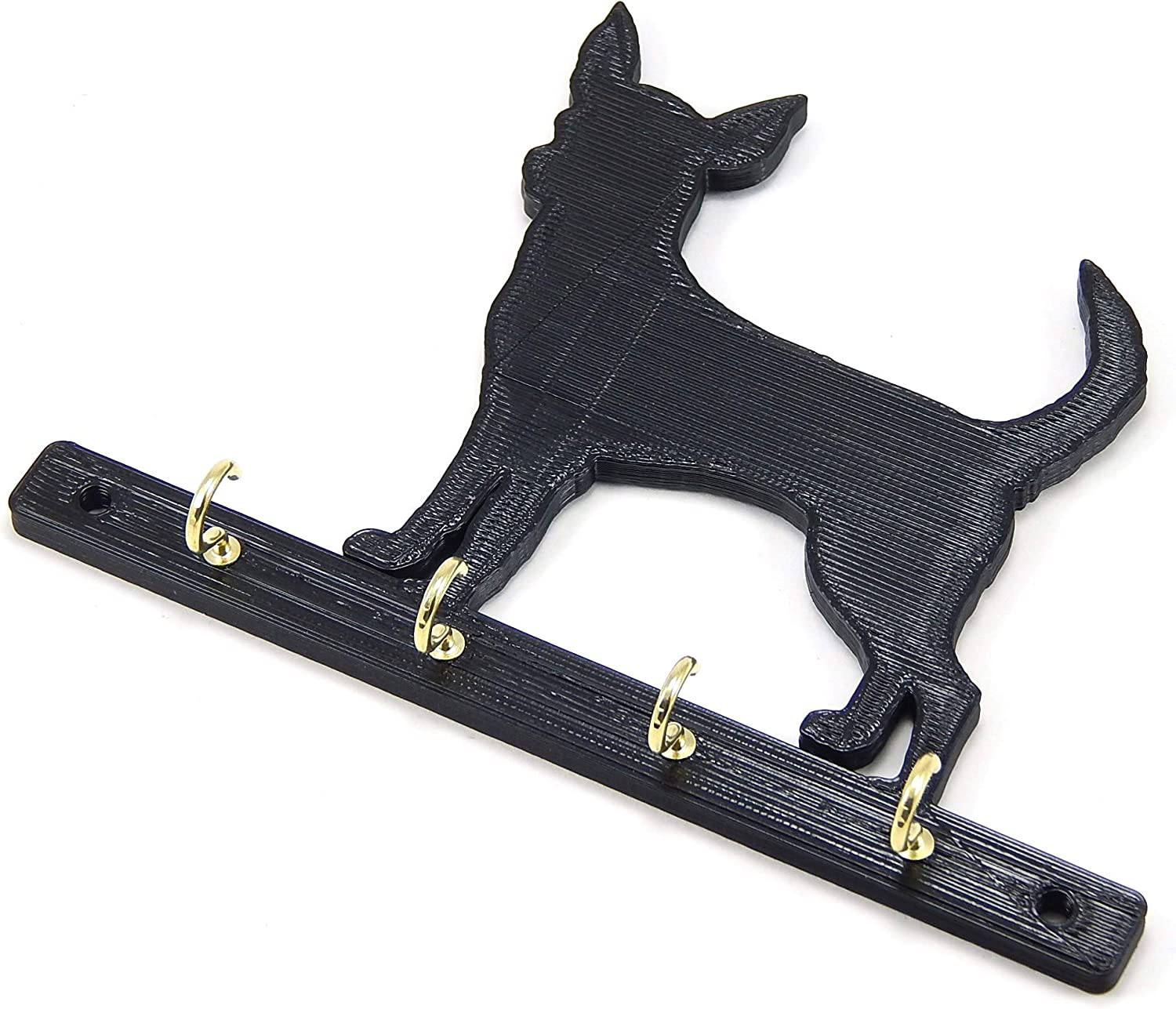 German Shepherd Dog Leash Holder Comes With Four Hooks Holds Four Leashes Dog Home Decor Forms Recordkeeping Money Handling Key Cabinets Racks Holders