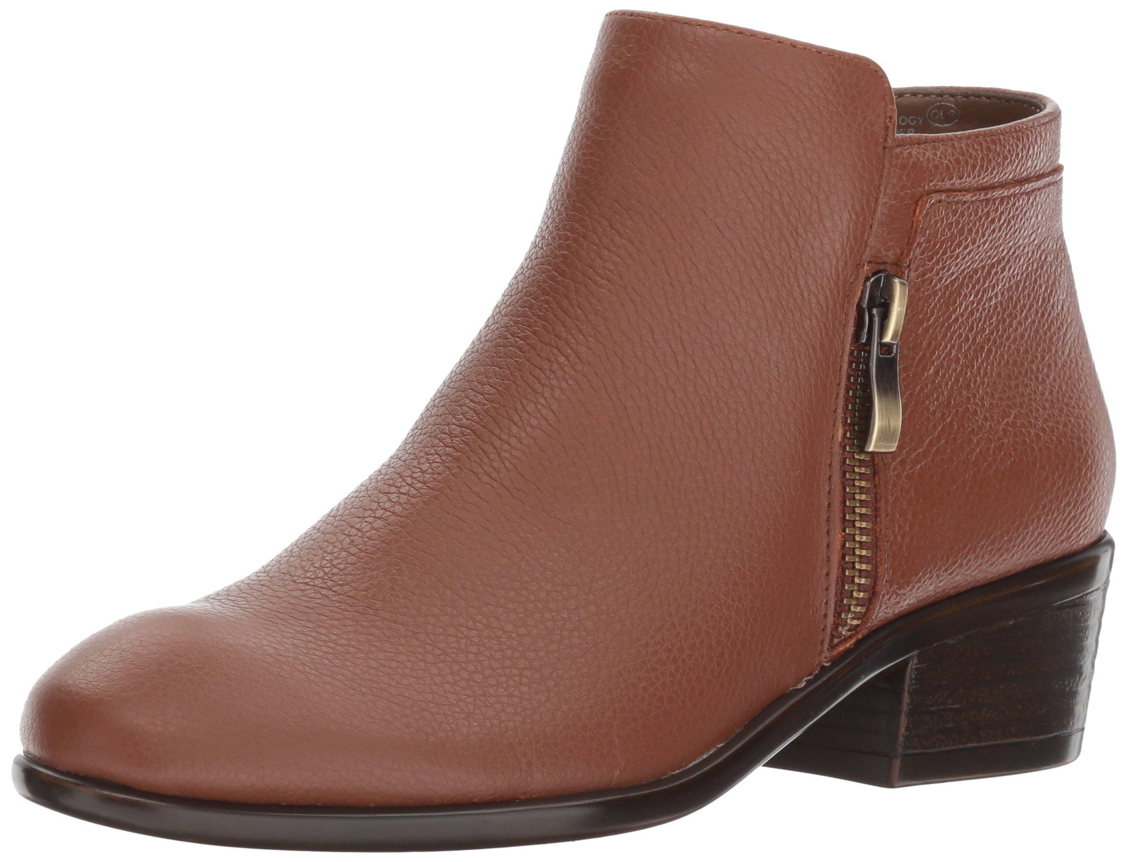 Aerosoles Women's Mythology Boot, Dark Tan Leather, 9 W US by Aerosoles (Image #1)