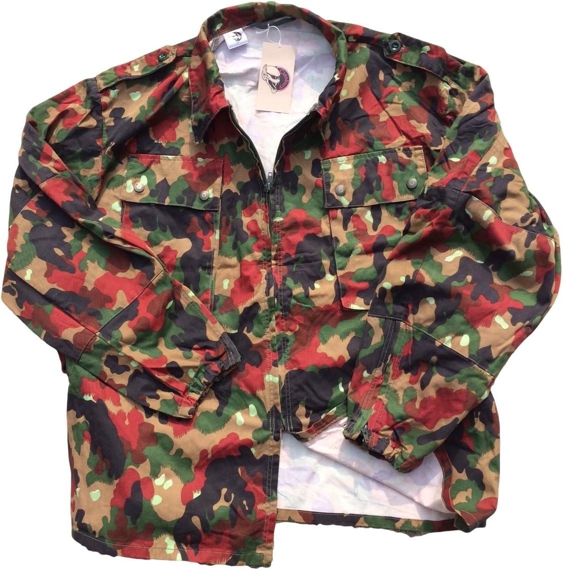 Swiss Army Alpenflage affaticamento Jacket//Heavy camicia