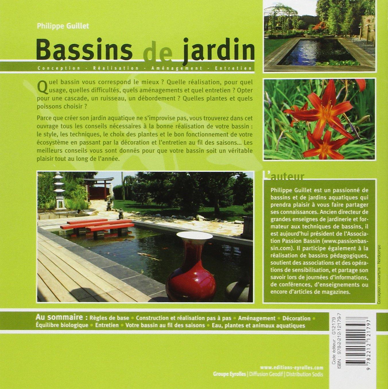 Amazon.fr - Bassins de jardin: Conception - réalisation ...