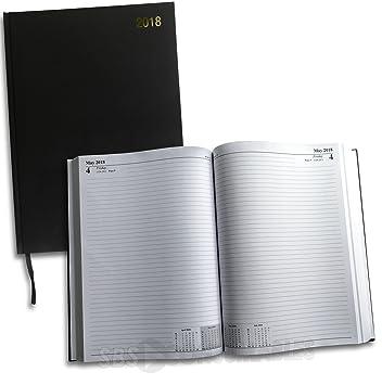 2017 agenda de hotel/restaurante, A4, 2 páginas por día ...