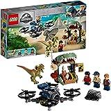 LEGO Jurassic World - Dilofosaurio a la Fuga Set de construcción de Aventuras con Figura de Dinosaurio, incluye un dron…
