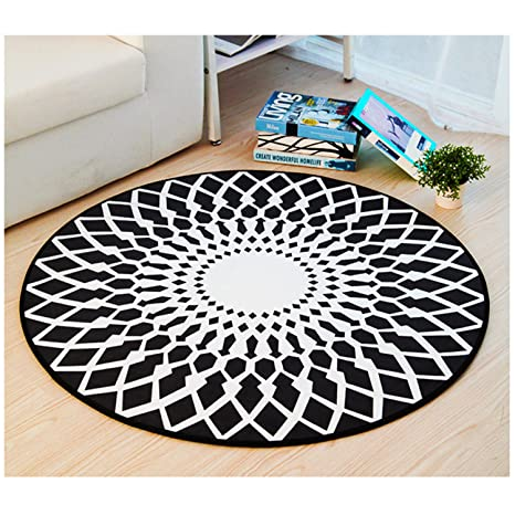 Zona tappeto rotondo creative Ikea Style Carpet computer tappeti ...