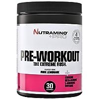 Nutramino +PRO Pre-Workout Supplement, Pink Lemonade, 0.33 Kg