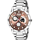 LEADER Fashion Analogue Copper DIAL Men Watch LF-9005
