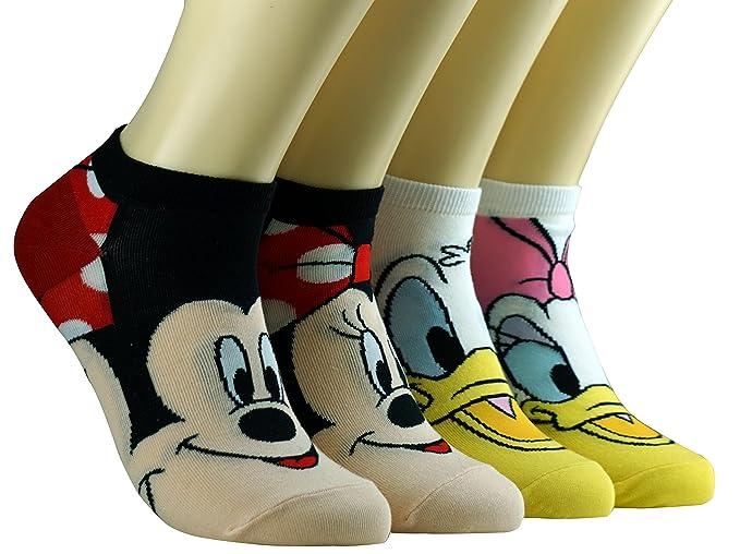 Calcetines Disney Mickey Minnie y Donald Daisy: Amazon.es: Ropa y accesorios