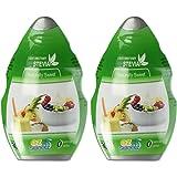 EZ-Sweetz (2-Pack 1.36oz - Liquid De-Bittered Stevia Sweetener 300 Servings/Bottle)
