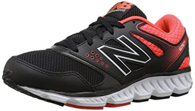 New Balance Women's W675V2 Running Shoe, Black/Red, ...