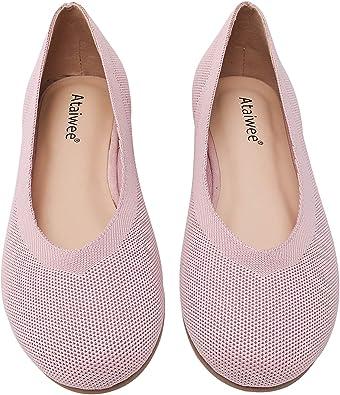 Ataiwee Women Wide Width Flat Shoes