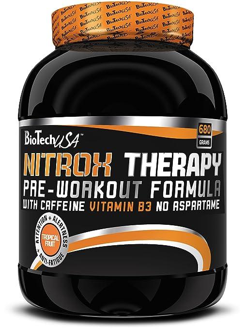 5 opinioni per BiotechUSA Nitrox Therapy Pre-Workout Booster 680g Mirtillo