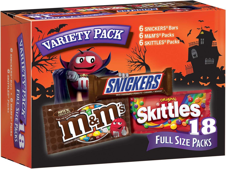 Save up to 25% on Mars Wrigley Halloween Favorites