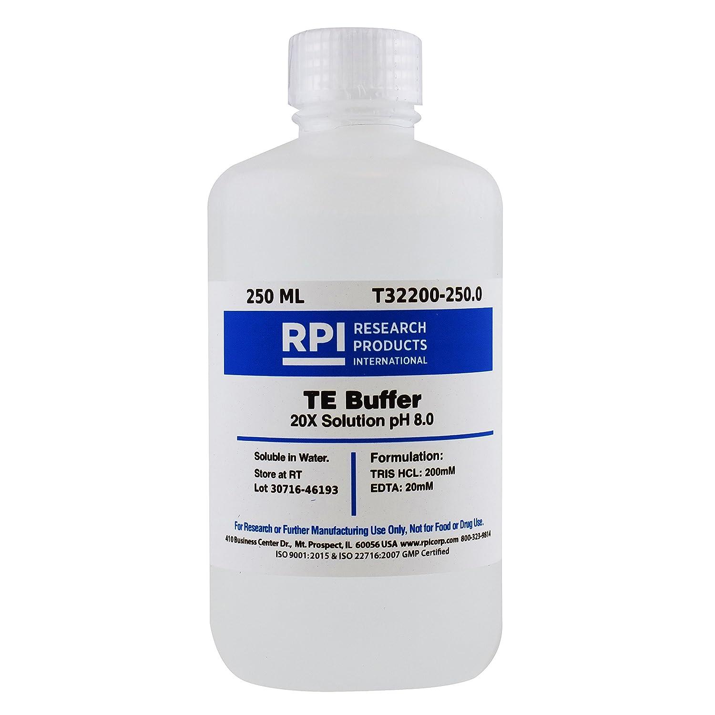 TE Buffer 20X Solution pH 8.0, 250 Milliliters
