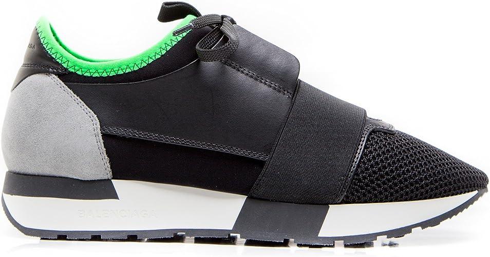 chaussures femme noir vert