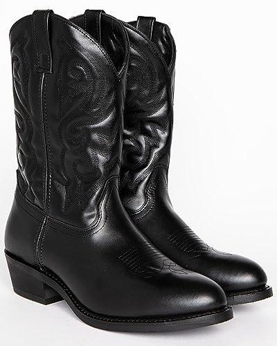 d250a0890a2 Amazon.com | Cody James Men's Classic Western Boot Medium Toe Black ...